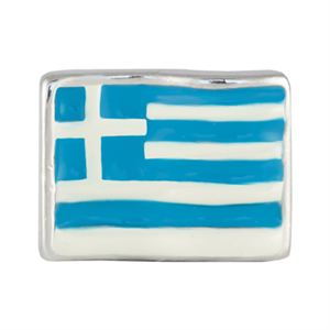 Picture of Greek Flag Charm