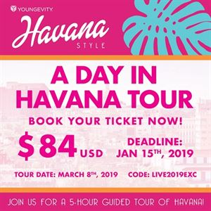 Picture of Live The Life You Want – 2019 Havana Excursion